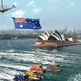 Australia Day Boat Party on Sydney Harbour